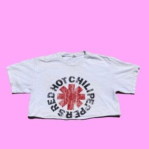 ☀️ The Red Hot Chili Peppers Crop Top